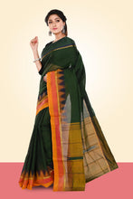 Load image into Gallery viewer, Silk Sari - Green