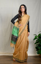 Load image into Gallery viewer, Light Brown Silk Cotton Saree