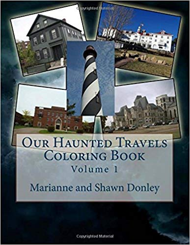 Our Haunted Travels Coloring Book Volume 1 - Signed
