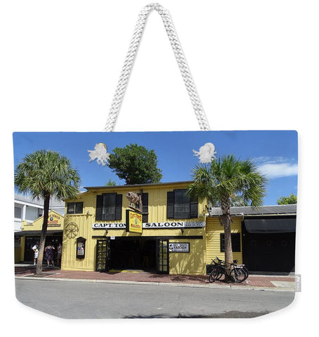 Captain Tony's Key West - Weekender Tote Bag