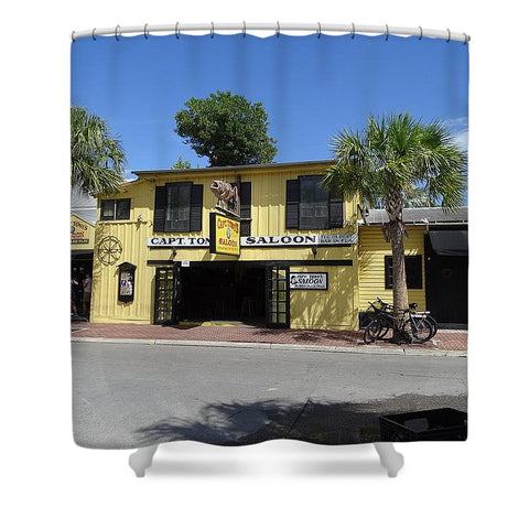 Captain Tony's Key West - Shower Curtain
