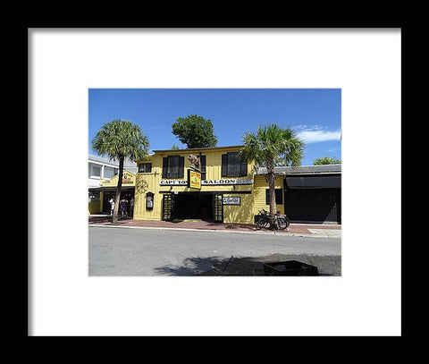 Captain Tony's Key West - Framed Print