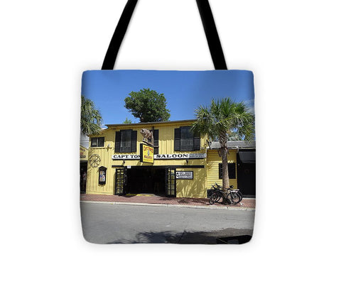 Captain Tony's Key West - Tote Bag