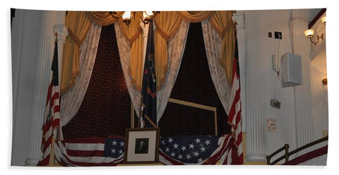 Presidential Box - Ford's Theater - Beach Towel