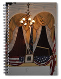 Presidential Box - Ford's Theater - Spiral Notebook