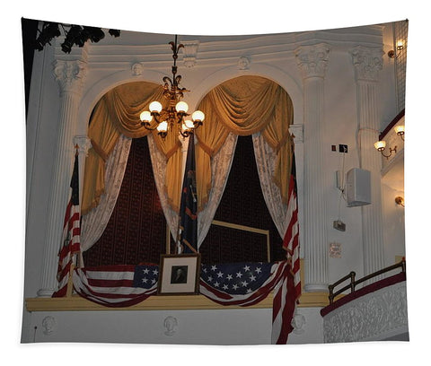 Presidential Box - Ford's Theater - Tapestry