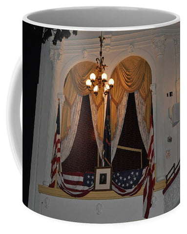 Presidential Box - Ford's Theater - Mug