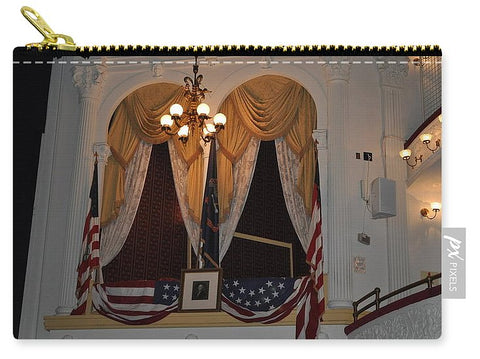 Presidential Box - Ford's Theater - Carry-All Pouch