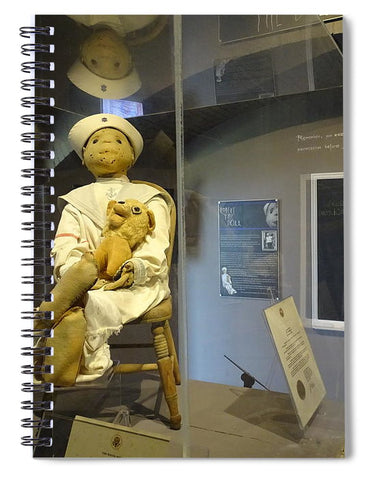 Robert The Doll - Spiral Notebook