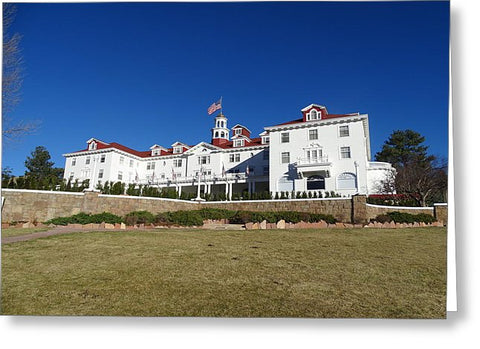 Stanley Hotel - Greeting Card