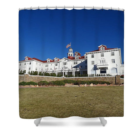 Stanley Hotel - Shower Curtain
