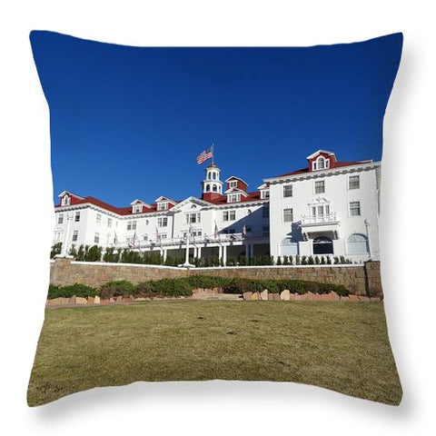 Stanley Hotel - Throw Pillow