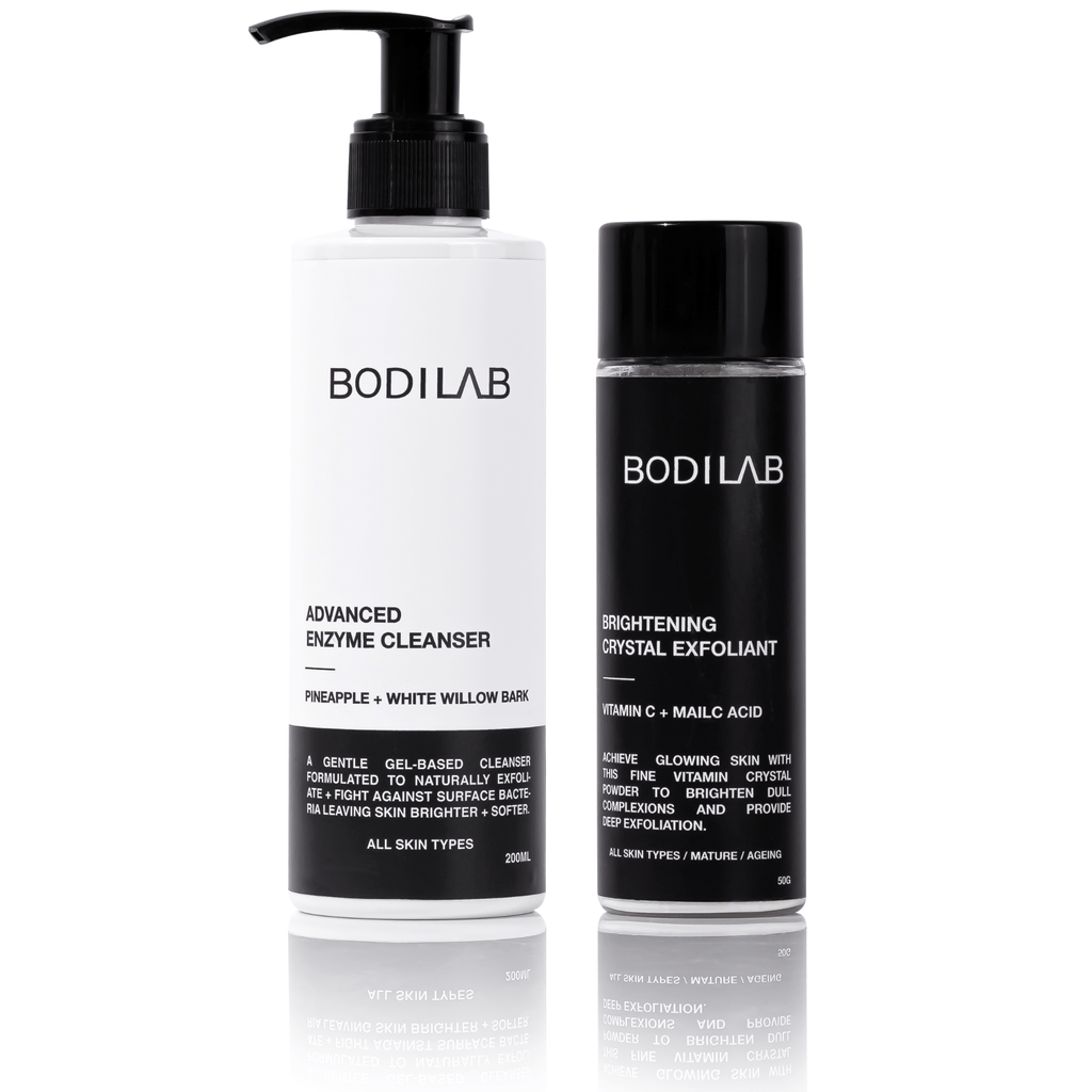 Cleanse + Brighten | Skin Care Set (Save 20%) - BODILAB