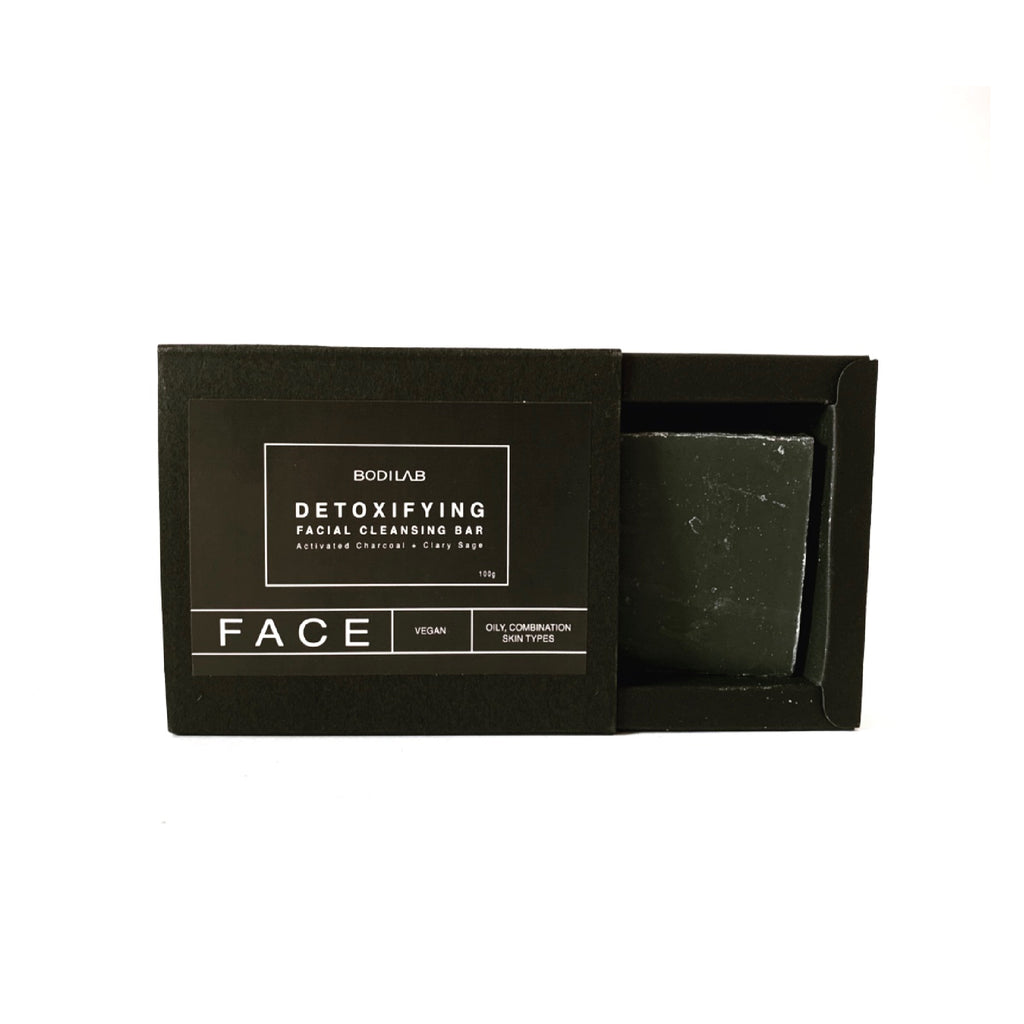 DETOXIFYING FACIAL CLEANSING BAR - BODILAB