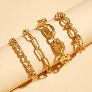 Gigi's Gold Anklet Set