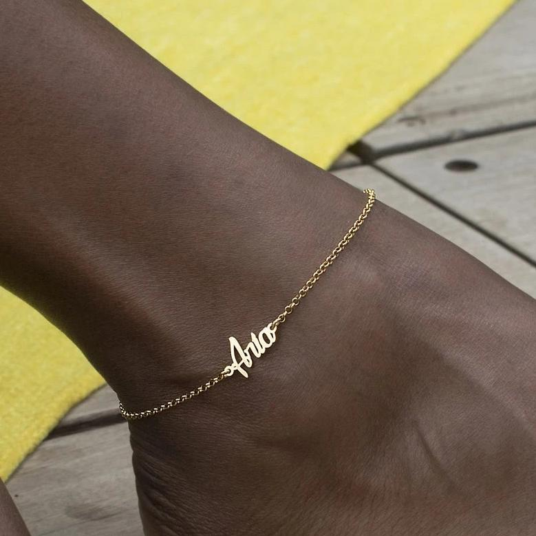 My Name Anklet