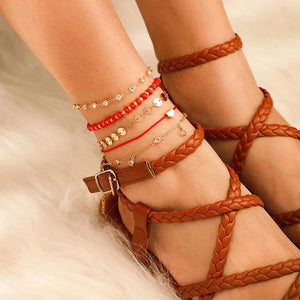 Willow's Sequins Chain Anklet
