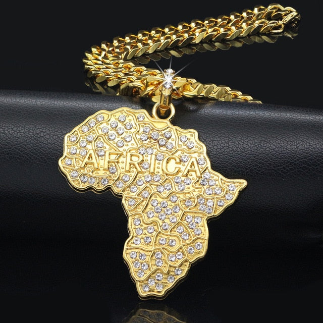 Retro Africa Necklace