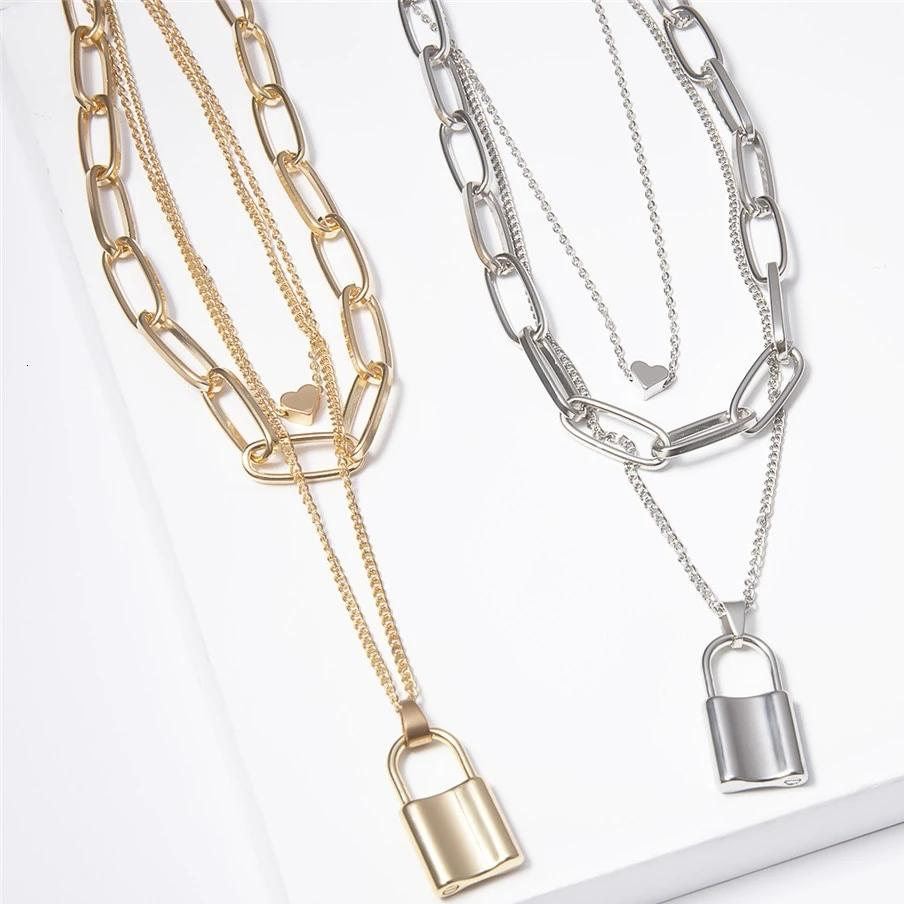 Elena's Lock Necklace Set