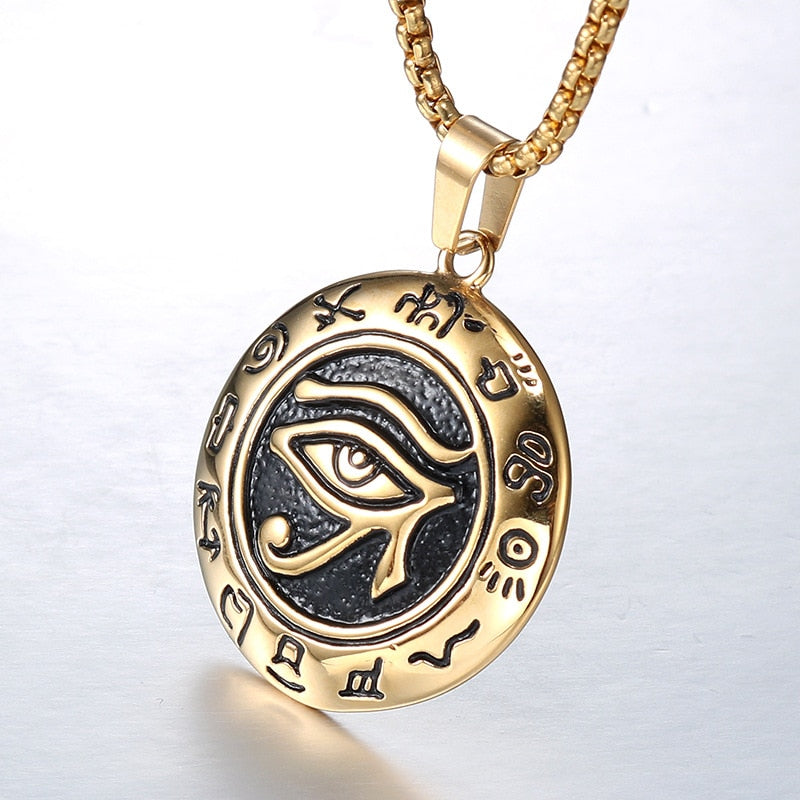 Ornament Eye Necklace