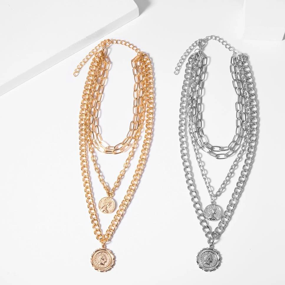 Carolyn's Coins Necklace Set