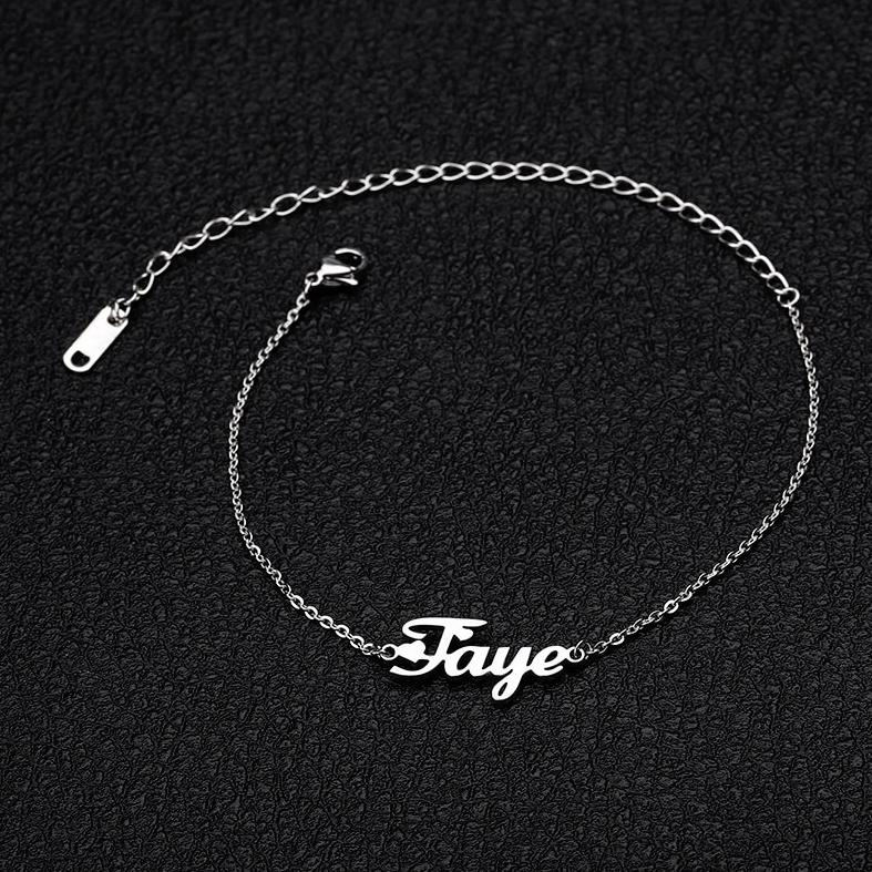 My Custom Name Anklet
