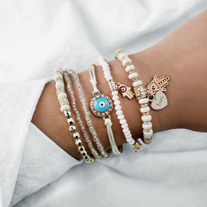 Samantha's Beaded Bracelet Set