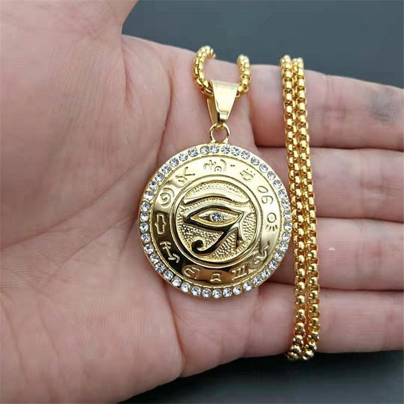 Annya's Eye of Horus Necklace