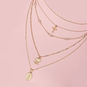 Nancy's Lotus Necklace Set