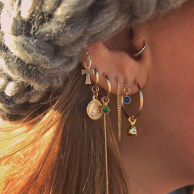 Angel's Boho Earrings Set