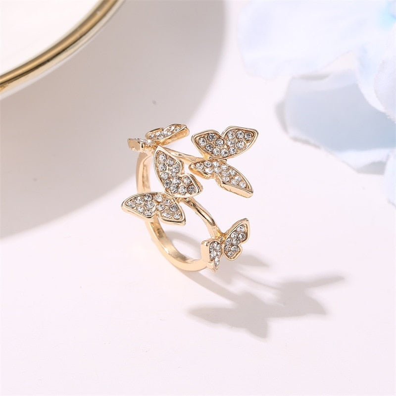 Grace's Small Butterfly Ring