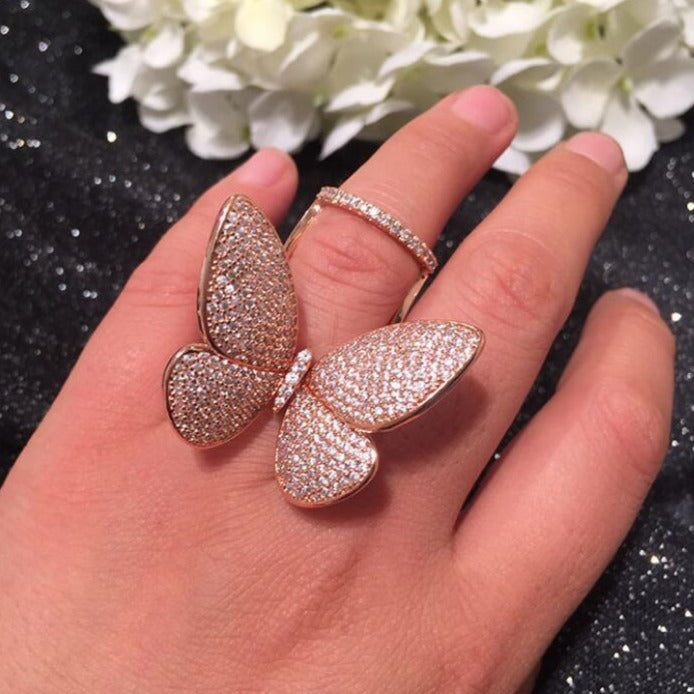 Gianna's Big Butterfly Ring