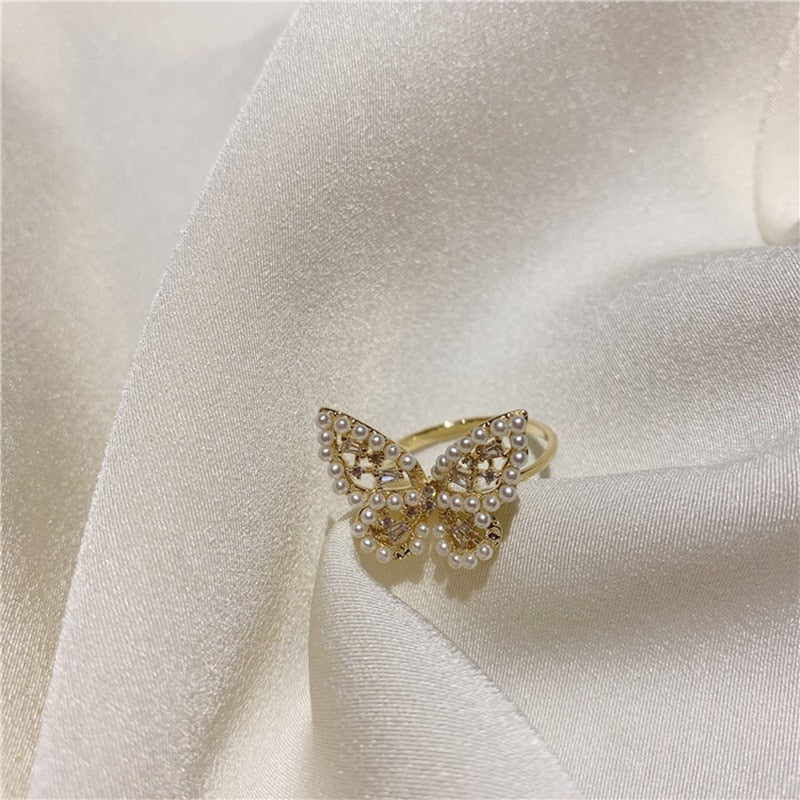 Penelope's Sweet Butterfly Ring