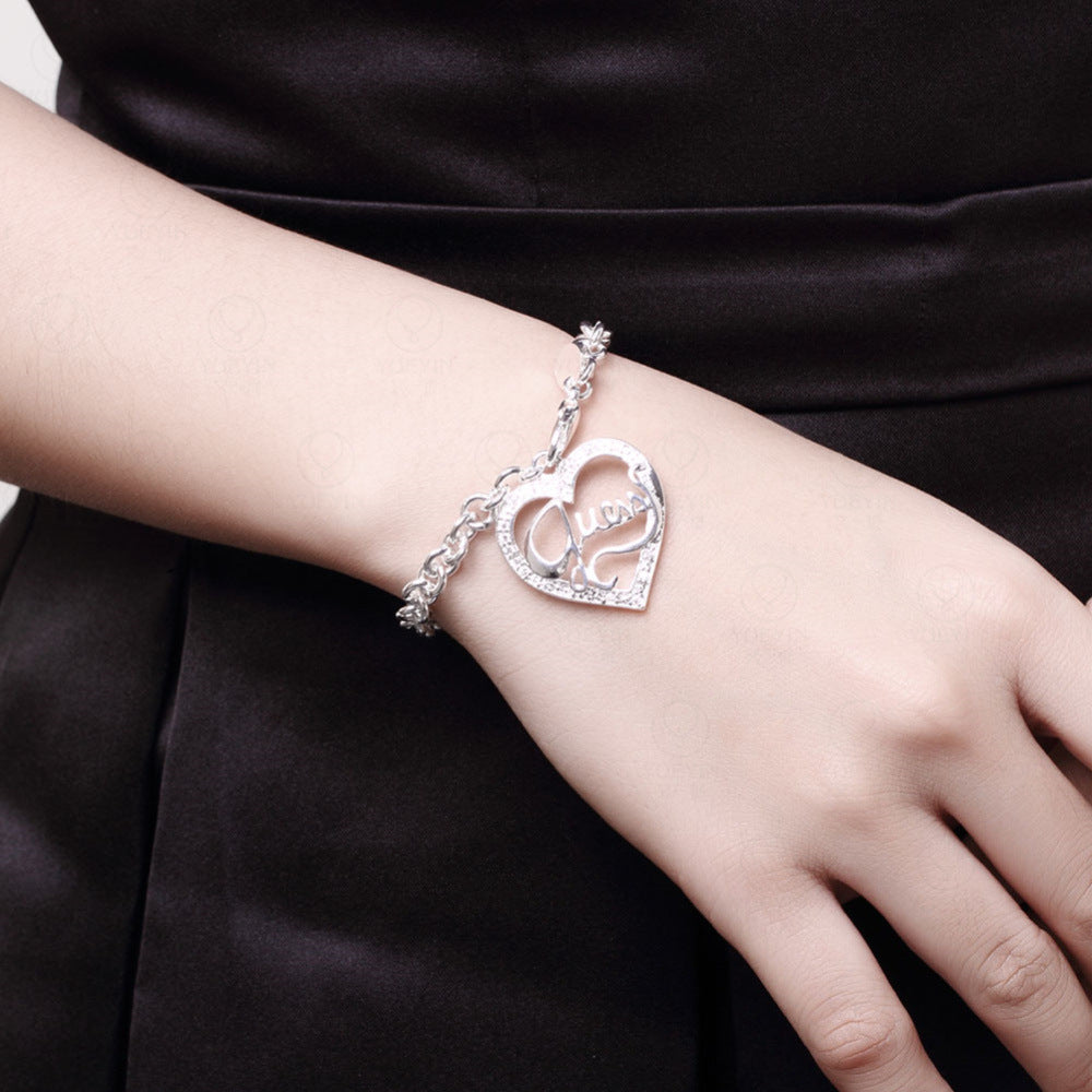 Heart Hollow Out Bracelet
