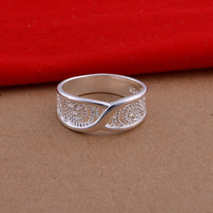 Hollow Silver Ring