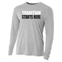 Mens Long Sleeve T-Shirt - Tradition Starts Here