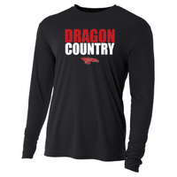 Mens Long Sleeve T-Shirt - Dragon Country