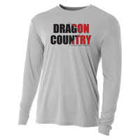 Mens Long Sleeve T-Shirt - Dragon Country Arrowed