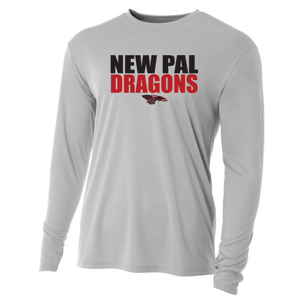Mens Long Sleeve T-Shirt - New Pal Dragons