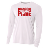 Mens Long Sleeve T-Shirt - Red Dragon Pride