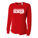 Womens Long Sleeve T-Shirt - New Palestine SENIOR