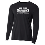 Mens Long Sleeve T-Shirt - We Are Dragons NPHS