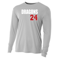 Mens Long Sleeve T-Shirt - Dragons ## (Custom)