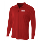 Mens Quarter Zip Pullover - We Are Dragons NPHS