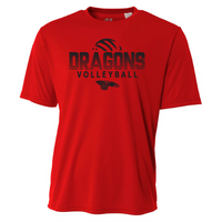 Mens Short Sleeve T-Shirt - Dragons Volleyball