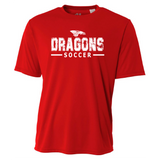 Mens Short Sleeve T-Shirt - Dragons Soccer
