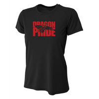 Womens Short Sleeve T-Shirt - Dragon Pride