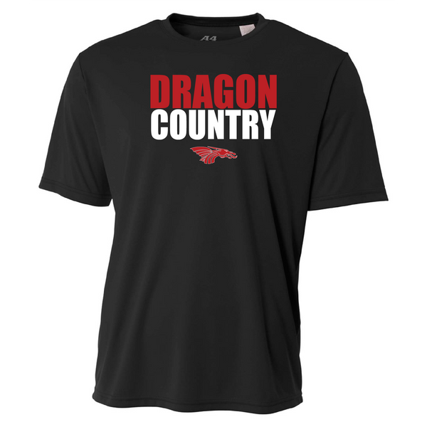 Mens Short Sleeve T-Shirt - Dragon Country