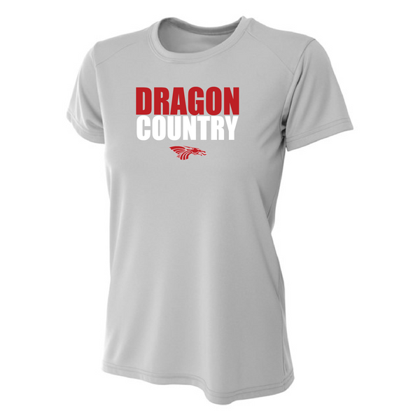 Womens Short Sleeve T-Shirt - Dragon Country