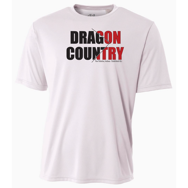 Mens Short Sleeve T-Shirt - Dragon Country Arrowed